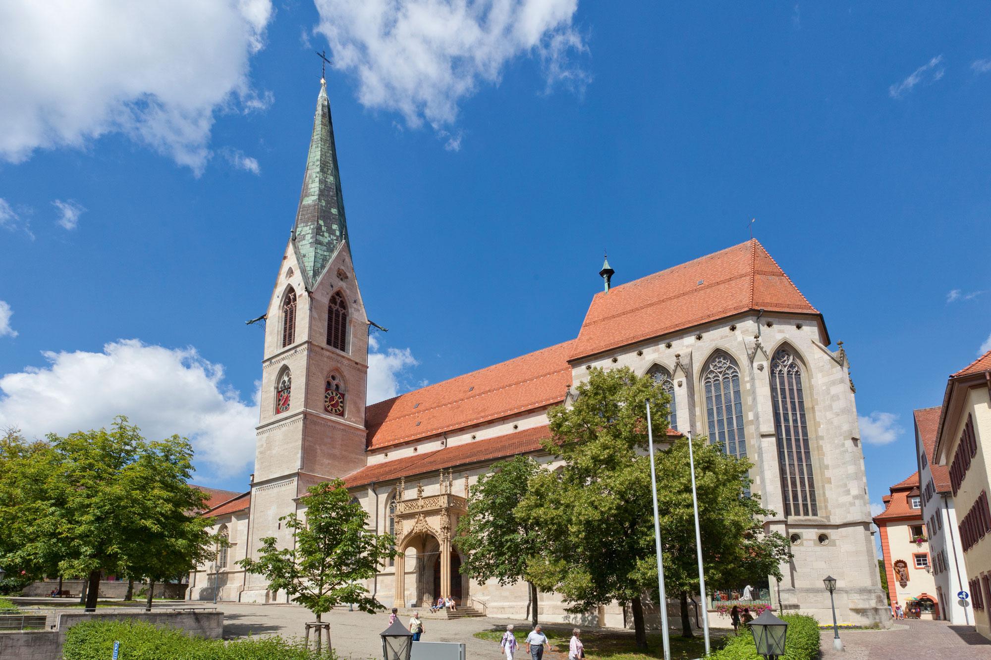 Südseite des Heilig-Kreuz-Münsters