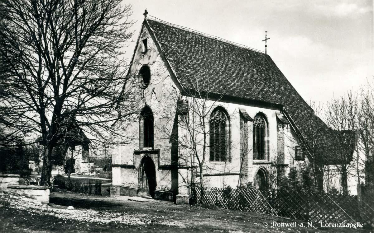 Historisches Foto der Lorenzkapelle