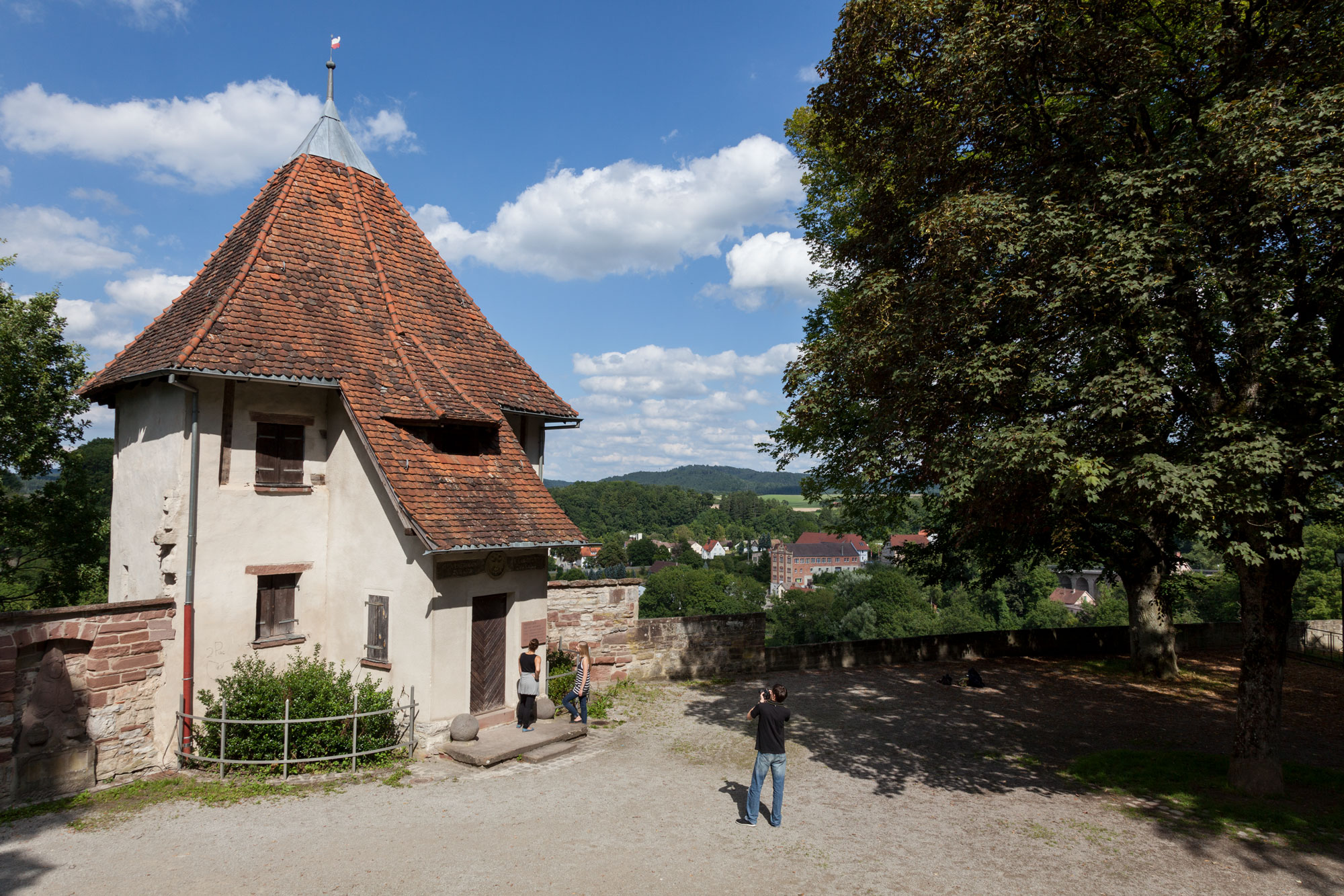Der Pulverturm im Bockshof