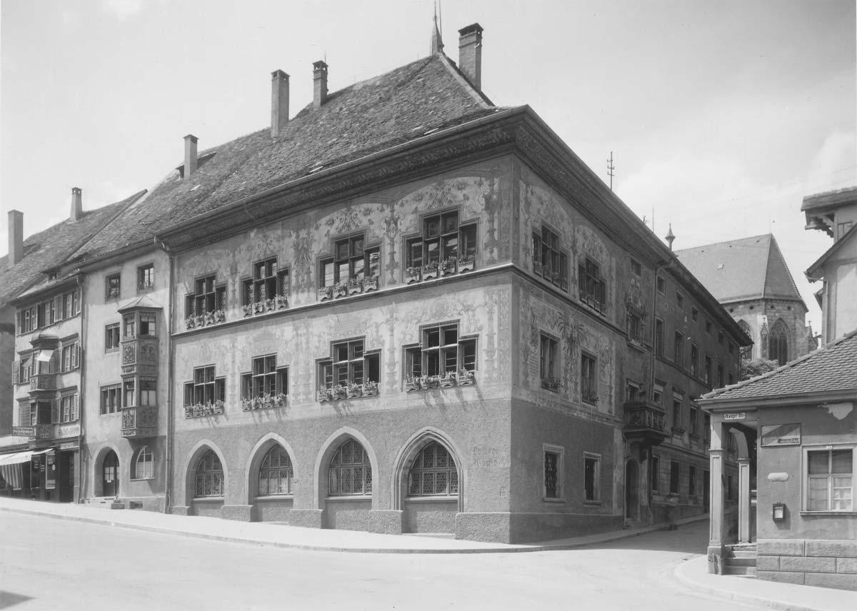 Das Alte Rathaus um 1930