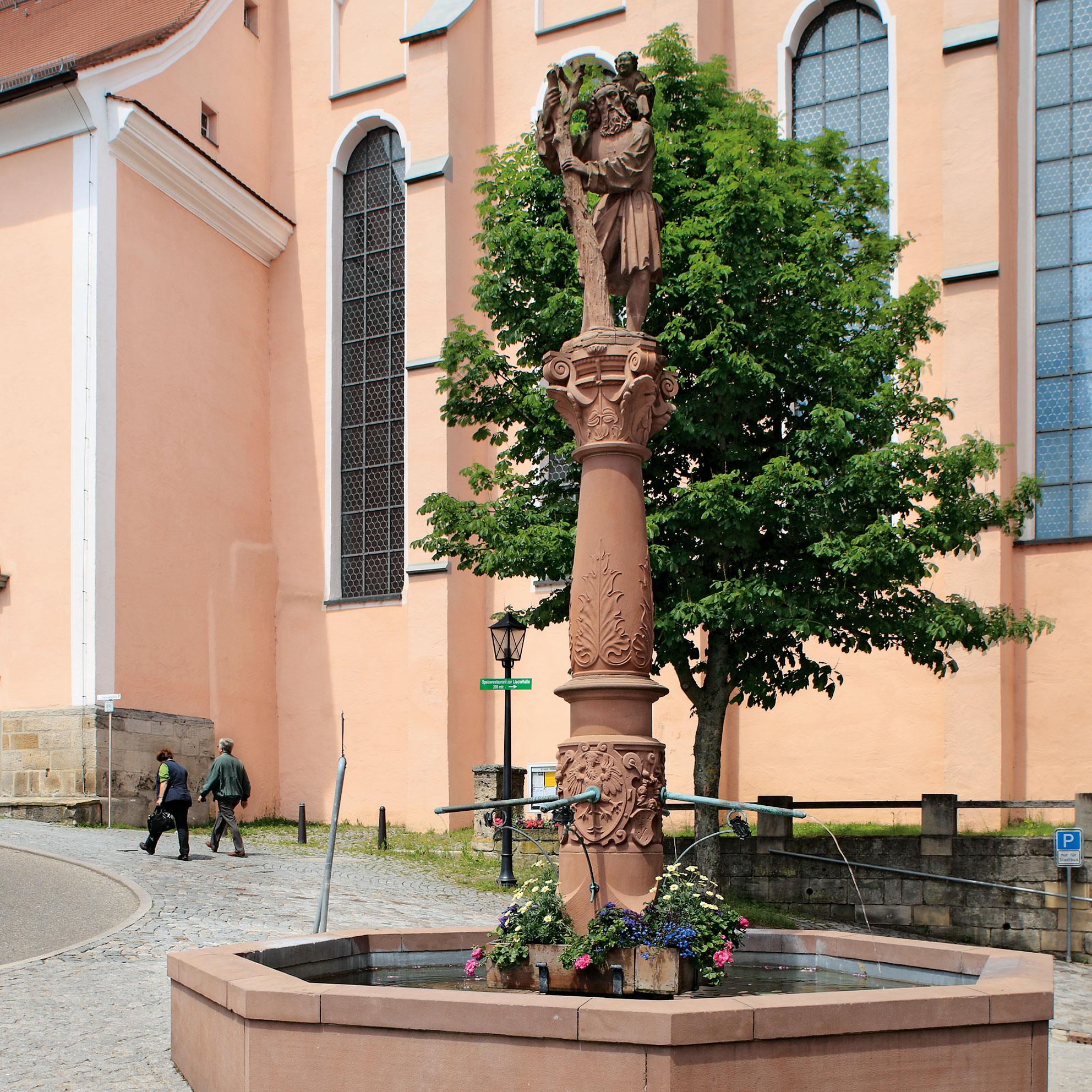 Christophorusbrunnen